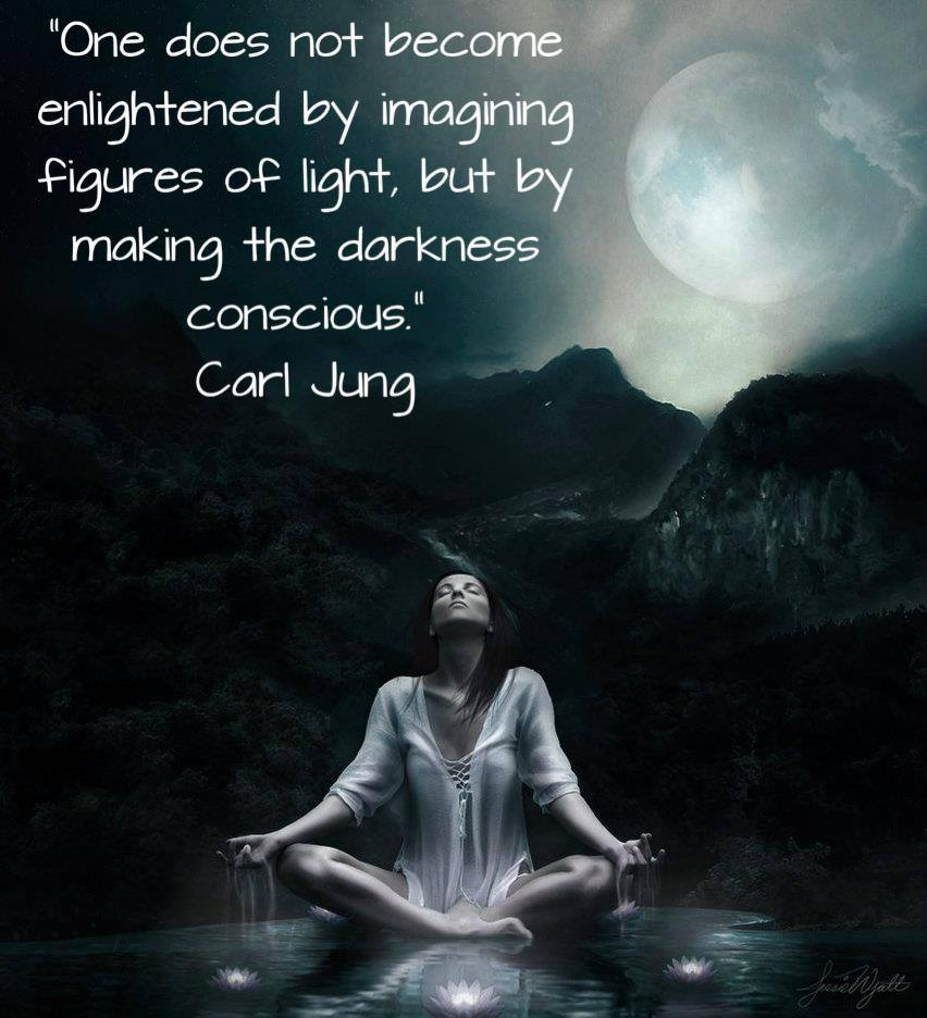Making The Darkness Conscious Within And From Without